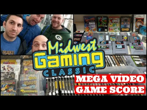 Midwest Gaming Classic: Mega Video Game Score