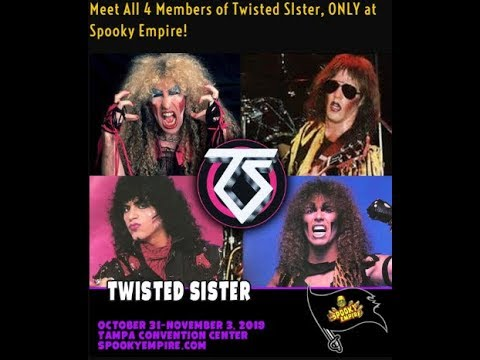 """TWISTED SISTER to reunite for 2 days/nights to celebrate 35th Anniv. of """"Stay Hungry""""!"""