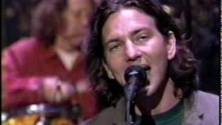 pearl jam hail hail show david letterman 20 09 1996