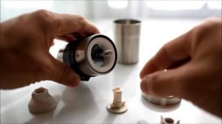 ポーレックス コーヒーミル分解・組立 thumbnail