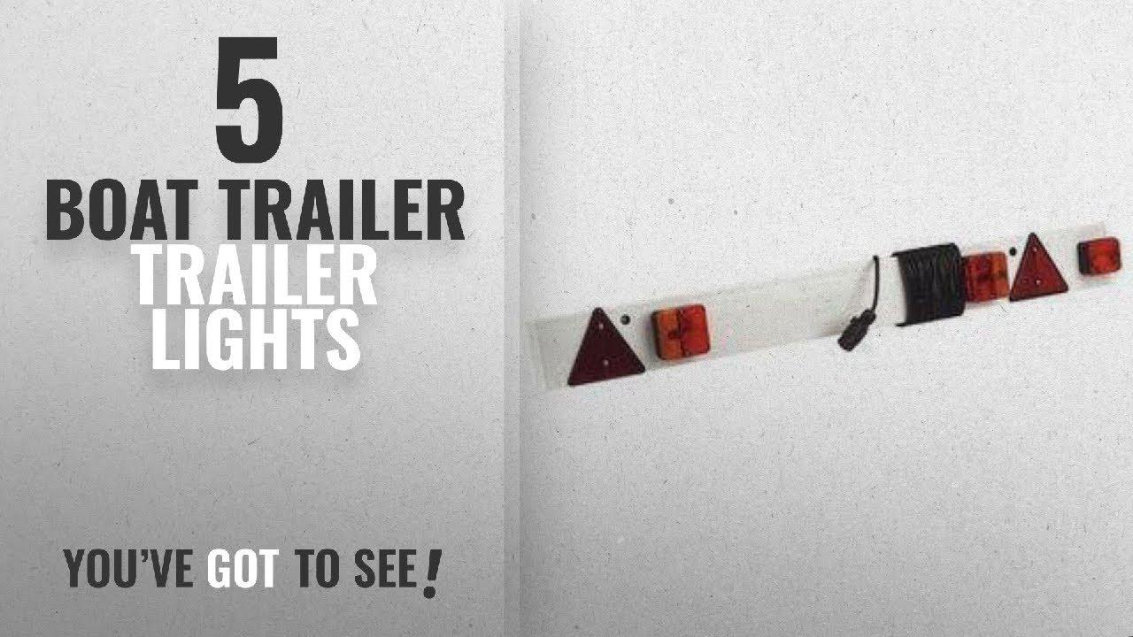 Top 10 Boat Trailer Trailer Lights [2018]: 6ft Trailer Lighting ...