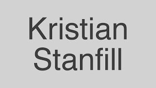 Kristian Stanfill - In Christ Alone (lyrics)