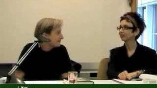 Avital Ronell and Judith Butler. Contemporaneity of Philosophy. 2006 3/3