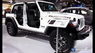 2018 Jeep Wrangler Unlimited Rubicon Exterior Interior Walkaround 2018 Montreal Auto Show Youtube