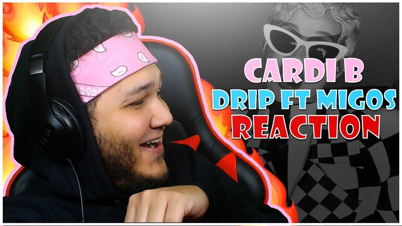 REACTION!! 💎🔥 Cardi B - Drip feat. Migos [Official Audio] - YouTube