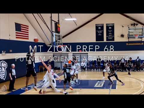 Mt. Zion Prep (MD) vs Putnam Science Academy (CT) Highlights 03-11-20