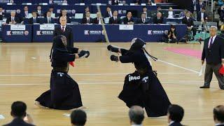 17WKC [準決勝] 竹ノ内 vs 安藤 - 第17回世界剣道選手権大会 男子個人戦