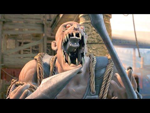 Mortal Kombat Xl All Characters Npc Perform Aliens Intro