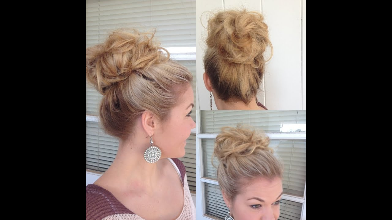 Hair Buns Styles Images Adorable Big Bouffant Hair Bun  Youtube