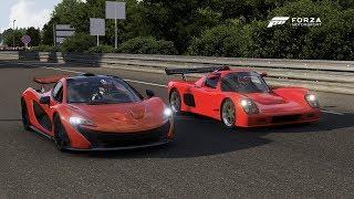 Forza 6 Drag race: McLaren P1 vs Ultima GTR 720