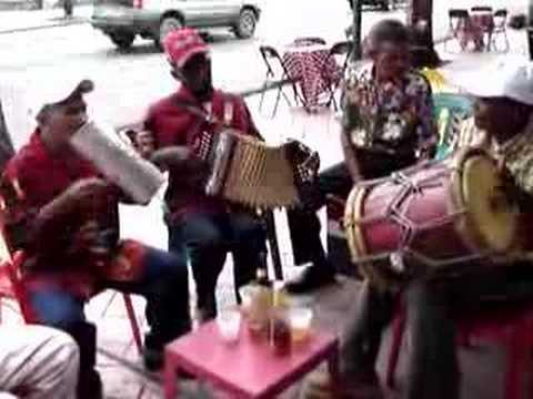 Local Band Playing Merengue in Santo Domingo, Dominican Repu