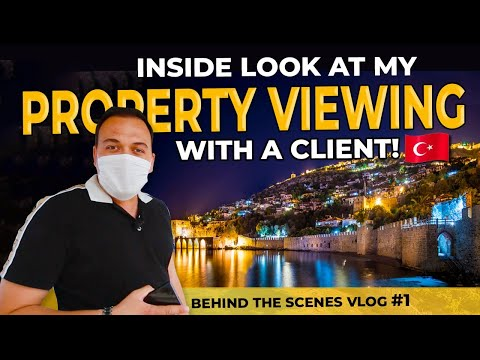 Turkey Real Estate Tour With A Client | Vlog #1😅
