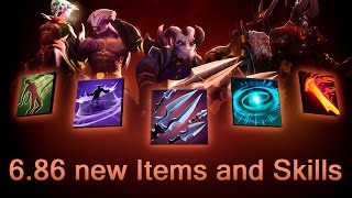 6.86 new Items, Aghanims and Skills — Dota 2(Old heroes changed, new Aghanim's Scepters added, new Items added. New items: Faerie Fire, Dragon Lance, Aether Lens and Iron Talon. Reworked heroes ..., 2015-12-16T15:44:17.000Z)