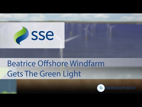 Beatrice Offshore Windfarm Gets The Green Light