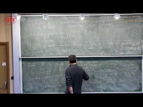 [4/5] Bertrand Eynard (2018) Riemann surfaces