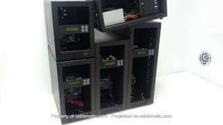 Duplicador CD DVD Blu-Ray interface SATA distribuido por CABLEMATIC ®