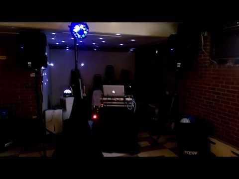 My Small Mobile DJ setup ...full functioning DJ Karaoke live recording
