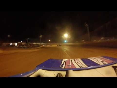 PJ Taylor on car camera Hartwell Speedway 3/25