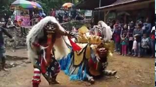 Banyak Yang Kesurupan Tari Rangda Barong Bali Jaranan Setyo Karang Pertapan Licin Live Idinan jambu