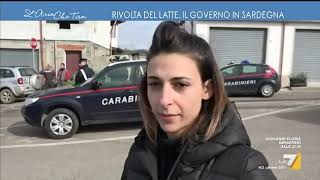 Rivolta del latte, il Governo in Sardegna