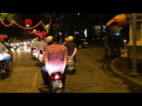 Moto taxi in Hanoi Vietnam April 2014 / Mazda belgium
