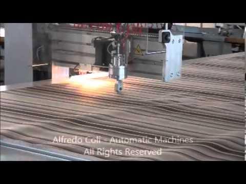 T410 700 macchina computerizzata per il taglio delle mantovane ...