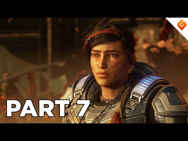 GEARS 5 Walkthrough Gameplay Part 7 - No Commentary