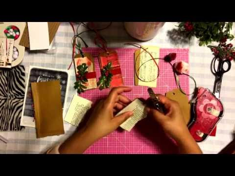 #14 🌲 Gift Tags Recycled & Repurposed DIY Home Supplies Tips and Ideas