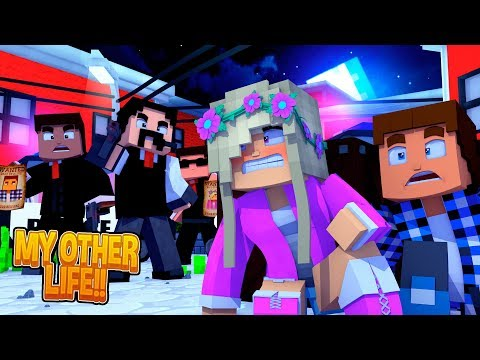Minecraft LEAH & DONNY ARE WANTED FOR MURDER BY THE FBI!!! My Other Life
