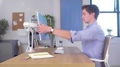 Meet Ollin, the revolutionary award-winning monitor arm