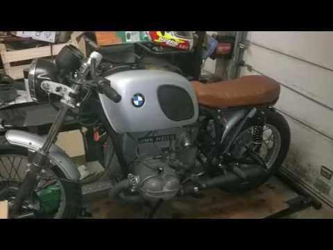 bmw r60 6 cafe racer restoration youtube. Black Bedroom Furniture Sets. Home Design Ideas