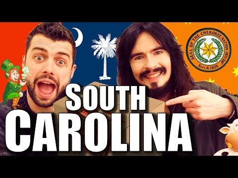 Irish People UnBoxing 'SOUTH CAROLINA' - American Care Package!!