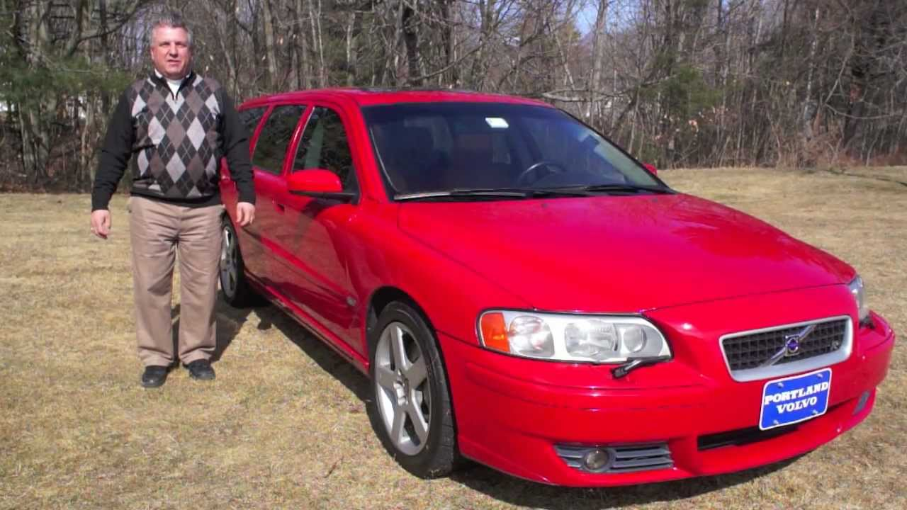 V70 R Volvo's Fastest Wagon Rare 6-Sd Manual Transmission at ...