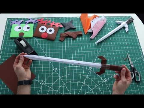 How to make Paper sword. Lord of the ring sword - Frodo