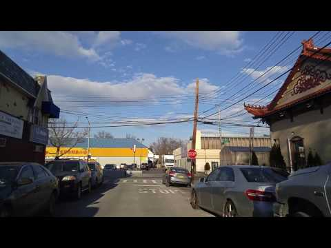 Driving from Flushing to Jamaica Queens,New York
