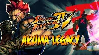 THE DEMON RETURNS! - Akuma Legacy: Street Fighter 4