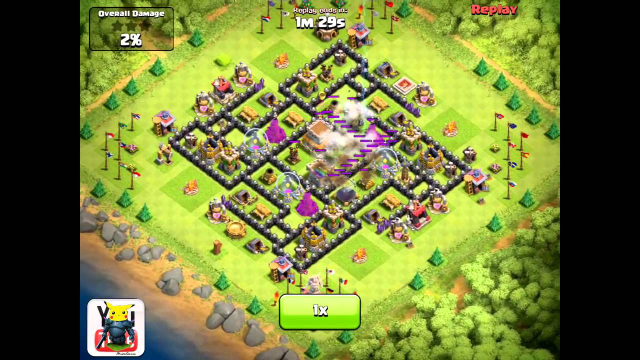 Coc th8 base design - Clash Of Clans Th8 Road To 2000 2400 S V 11 Dragons P E K K A Dual Heroes Quadruple Spells Youtube