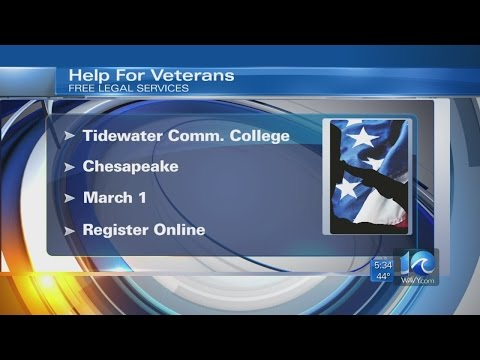 TCC to hold free legal services clinic for veterans
