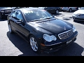 2007 Mercedes-Benz C230 Sport 6-spd Walkaround, Start up, Tour and Overview