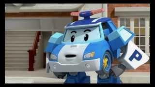 Робокар Поли - Правила дорожного движения - Когда случаются аварии (мультфильм 11)