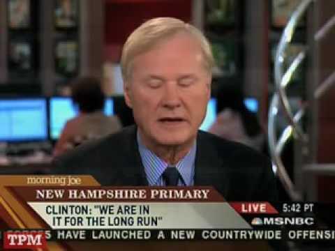 Chris Matthews on Hillary Clinton's Political Career