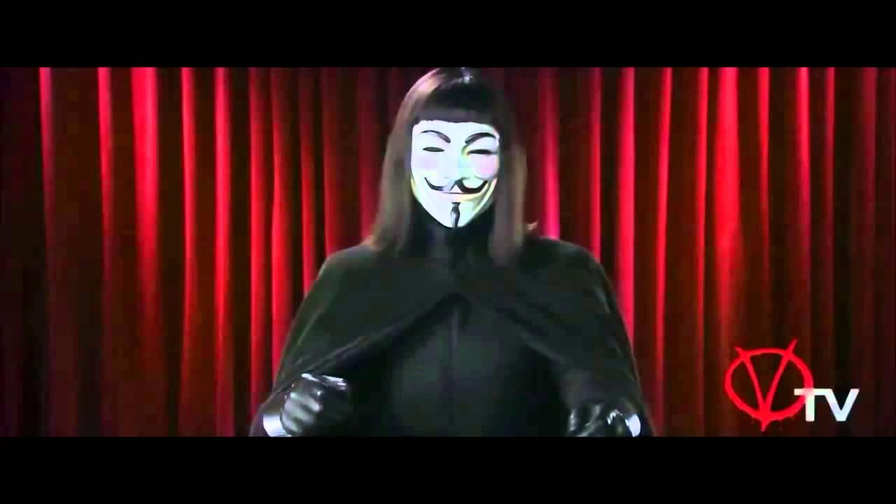 V for Vendetta : V 's Best Lines