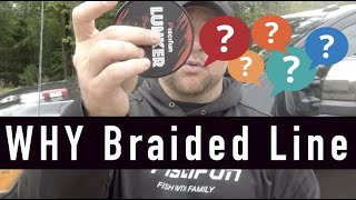 Top 3 Reasons YOU should Use BRAIDED LINE !