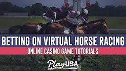 How to Bet on Virtual Horse Racing Online | Online Casino Game Tutorials