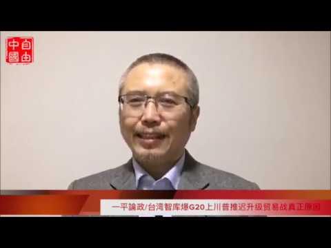 台湾智库爆G20上川普推迟升级贸易战真正原因:中共垮台之前,让美金美企走出来,粮食能源卖过去《一平论政》(12/5/2018)