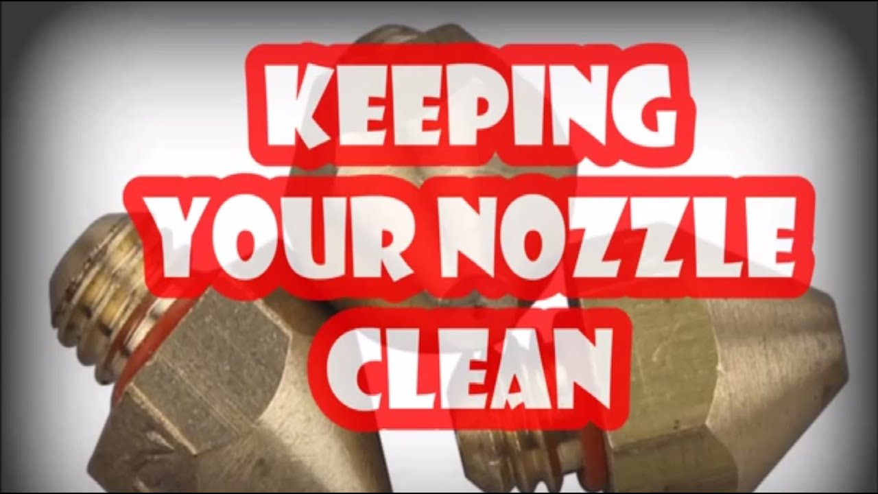 How to clean the nozzles 89