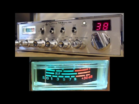 11meterdx Wagga Live Stream 19/2/2018 (27mHz Aussie CB radio) Cobra 148GTL-DX