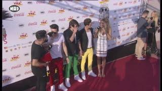 Στο Red Carpet των Μad VMA 2015 by Coca-Cola παρέα με την Syoss!