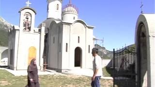 видео Действующий Православный мужской монастырь Острог в Черногории