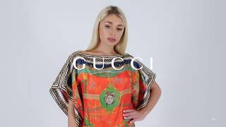 Новая коллекция Gucci Женский летний образ Фирменный бутик в Лакшери Store Тренды 2020